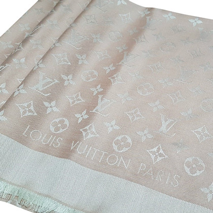 Louis Vuitton Tissu denim monogramme en rosé