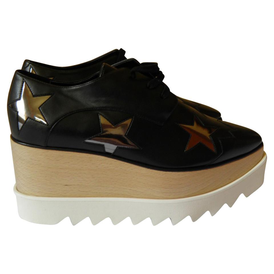stella mccartney chaussures lacets avec semelle plateforme acheter stella mccartney. Black Bedroom Furniture Sets. Home Design Ideas
