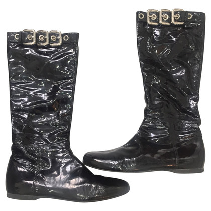 Miu Miu Patent leather boots