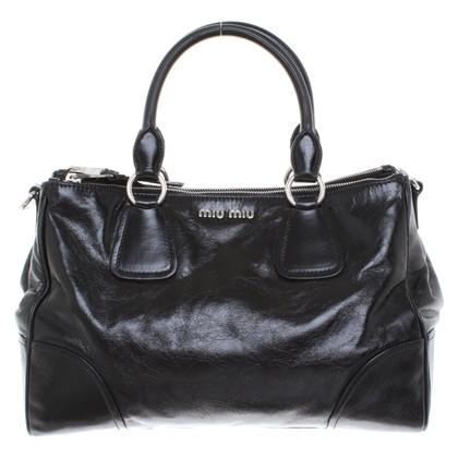 Miu Miu Leather handbag in black