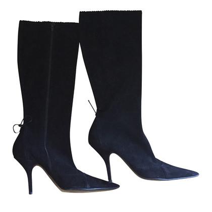 Calvin Klein stivali di camoscio