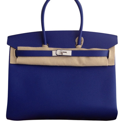 "Hermès ""Birkin Bag 35 Electric Blue"""
