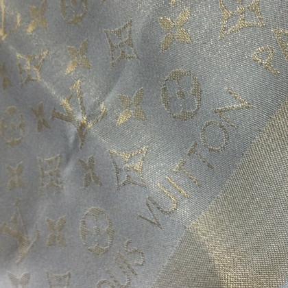 Louis Vuitton Monogram-Shine-Tuch in Beige/Gold