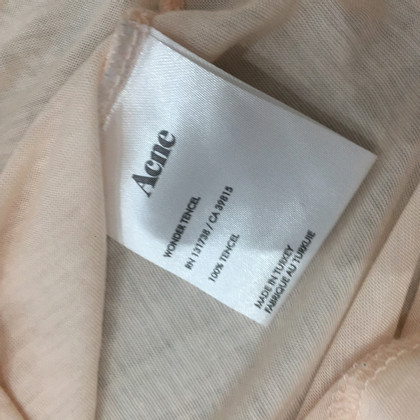 Acne T-Shirt in Nude