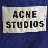 Acne Lana giacca in Royal Blue