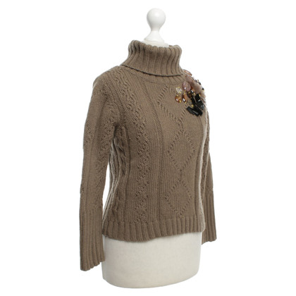 Schumacher Knit sweater with applications