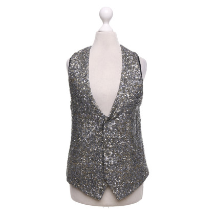 Zadig & Voltaire Vest with sequin trim