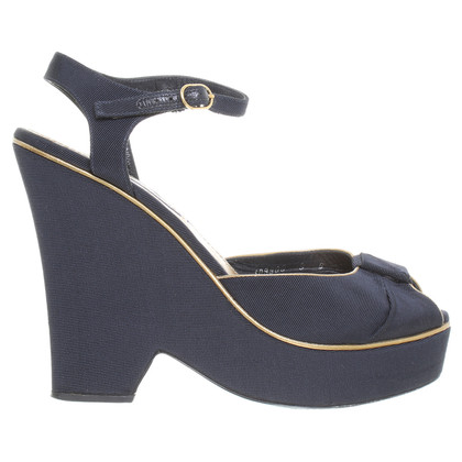 Ralph Lauren Peep-toes with wedge heel