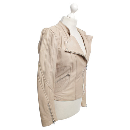 Oakwood Lederjacke in Nude