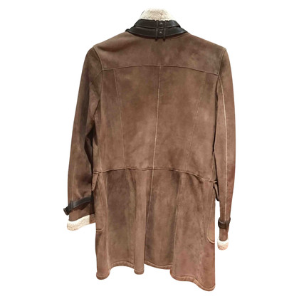 Mabrun Turned Out veste en peau de mouton 'Aviator'