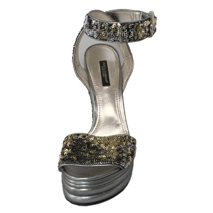 Dolce & Gabbana Sandals with sequins