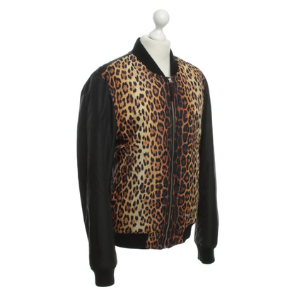 Moschino Bomber jacket with pattern