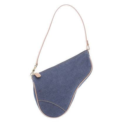 "Christian Dior ""Saddle Bag"" dal denim"