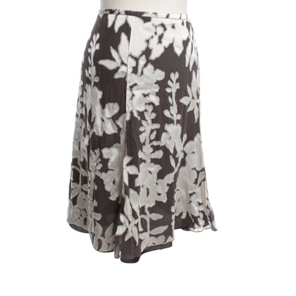 Armani skirt with floral pattern