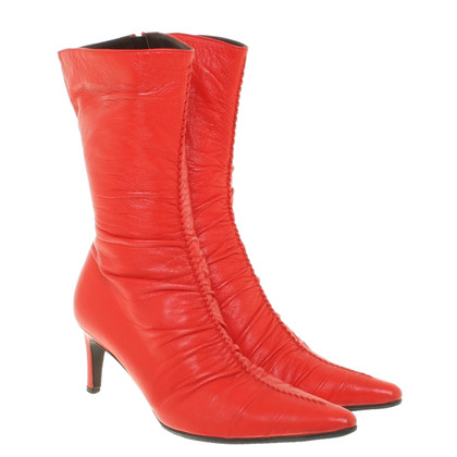 L.K. Bennett Boots in red