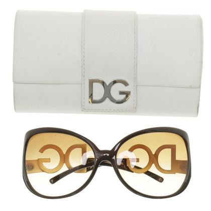 Dolce & Gabbana Sonnenbrille mit Logo-Bügeln