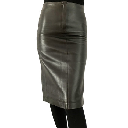 Joseph leather skirt