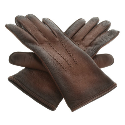 Prada Gloves in Brown