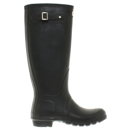 Hunter Gummistiefel in Schwarz