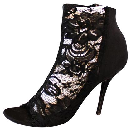 Dolce & Gabbana Stiefeletten mit Spitze