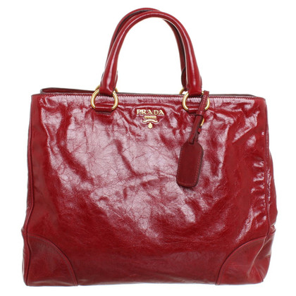 Prada Handtas in rood