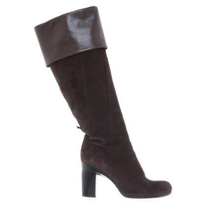Costume National Boots in dark brown