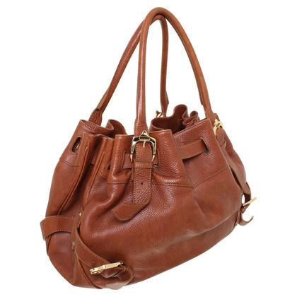 Burberry Leather handbag in Brown