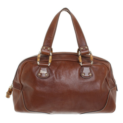 Gucci Leather handbag in brown