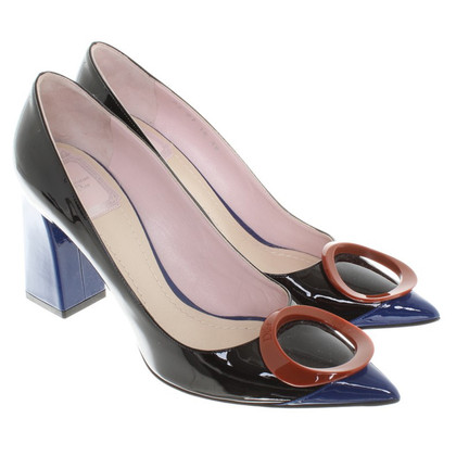 Christian Dior pumps patent leather