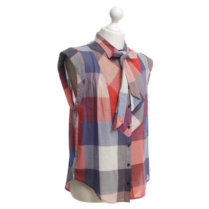 Sandro Multi-colored blouse without sleeves