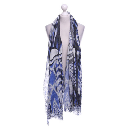 Roberto Cavalli Scarf with print