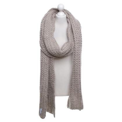 Strenesse Blue Gebreide sjaal in beige