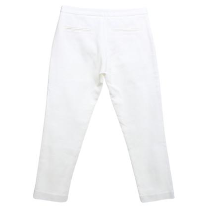 Tara Jarmon Pantaloni in crema bianca