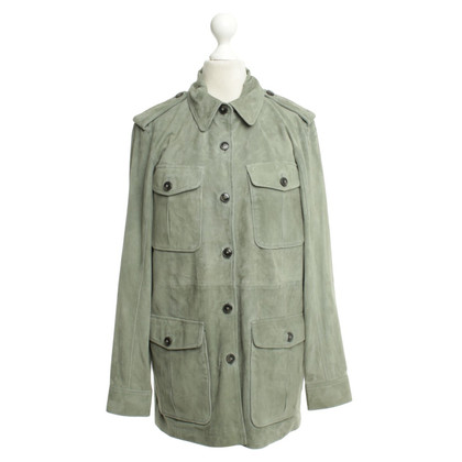 Closed Suede jacket with green