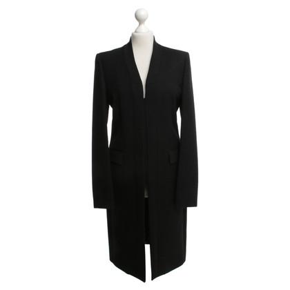 Aquascutum manteau de laine noire