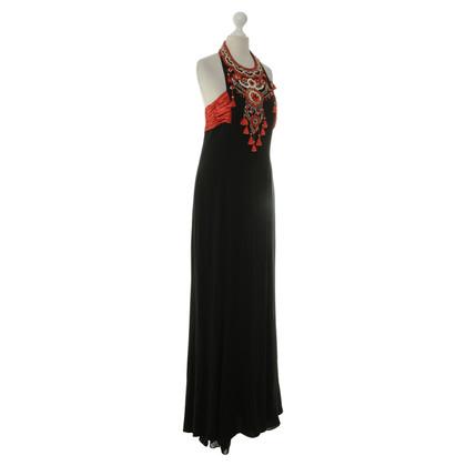 Escada evening gown with trim