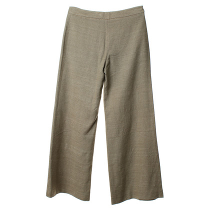 Alberta Ferretti Pants in gray-green