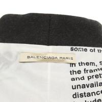 Balenciaga Mantel in Dunkelgrau