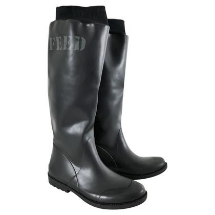 DKNY Wellington boots