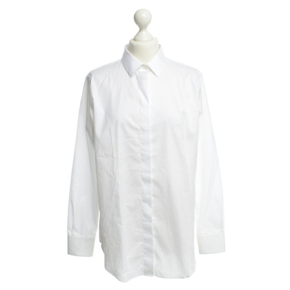 Iris & Ink Cotton blouse in white