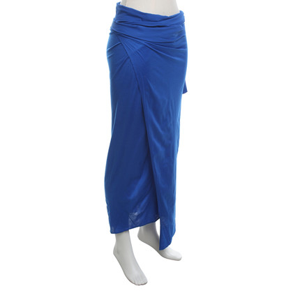 Eres Wrap skirt in blue