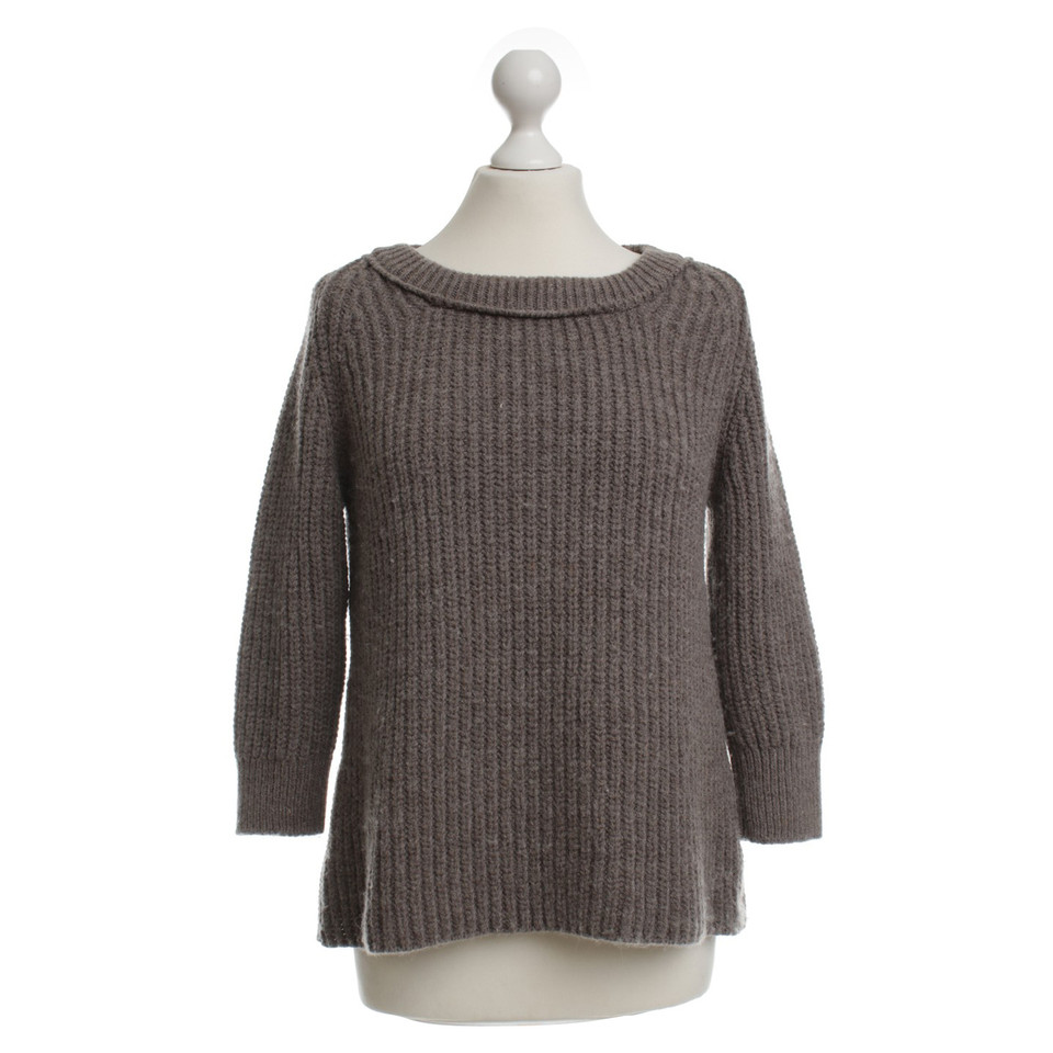 marc cain sweater in taupe buy second hand marc cain sweater in taupe for. Black Bedroom Furniture Sets. Home Design Ideas