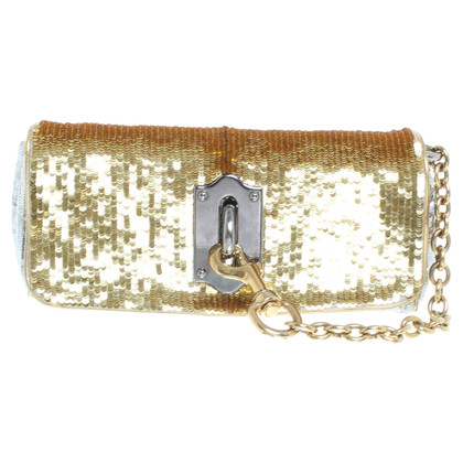 Dolce & Gabbana Clutch in Gold/Silber