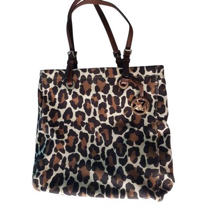 Michael Kors Borsa con stampa leopardo