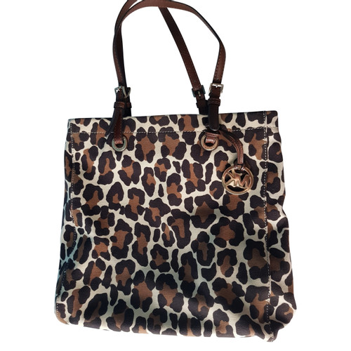 Michael Kors Handbag With Leopard Print