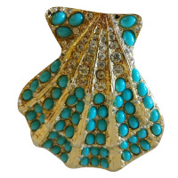 Kenneth Jay Lane Brooch in shell shape