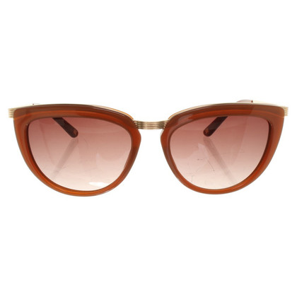 Escada Sunglasses in Gold / Brown