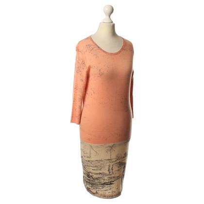 Iris von Arnim Kasjmier jurk met motief