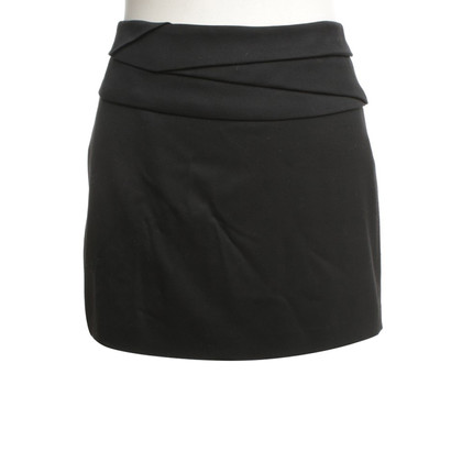 Helmut Lang Mini skirt in black