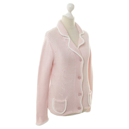 Luisa Cerano Strickjacke in Rosa